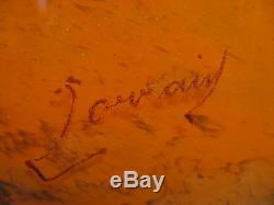 Ancienne coupe époque art déco signée Lorrain