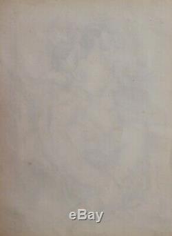André LHOTE dessin cubiste tableau femme nue modèle atelier Art Déco cubisme nu
