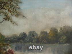 Belle ancienne huile sur toile encadrée et signée ALRAY années 1950