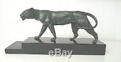 Bronze Periode Art Deco / Panthere / Signee