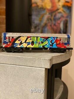 COPE2 subway car Original graffiti train zephyr seen comet Jonone street art