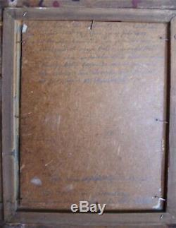 Christian ZIEBOLD 1957 nature morte encadrée cadre Montparnasse doré