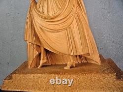 D. H CHIPARUS EDITIONS REVEYROLIS Paris-élégante art deco-cendrillon-terre cuite