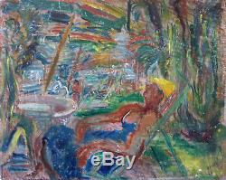 GHY-LEMM (1888-1962) HsP Signée / Années 40 Forties / Fauvisme