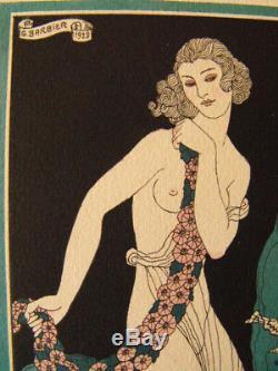 George Barbier Proserpine 1929 Les Artistes du Livre Art-Déco