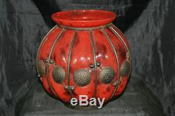 Grande coupe vase art déco années 30 non signé
