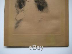Helleu Paul César 2 Gravures 1 Signée Crayon 2 Etchings 1 Handsigned Art Déco