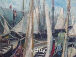 Intéressante Marine de A LEYRITZ 1956 Bretagne
