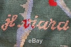 Jean-Louis VIARD (XXe) Magnifique Tapisserie en laine 177 x 125 cm Signée