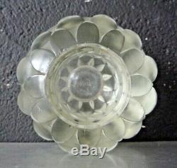 LAMPE BERGER SIGNEE R. LALIQUE MODELE ARTICHAUT ART DECO 1930, daum, sabino, muller
