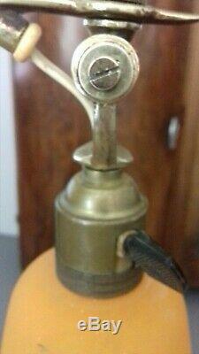 Lampe Art Deco Signe Degue Lampe 1910 Tulipe Vasque Muller Degue Daum Lustre