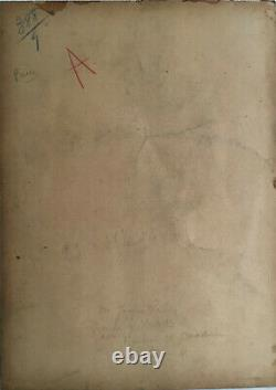 Les poilus de l'arrière, Dessin rehaussé de Julien-Jacques Leclerc(1885-1972)