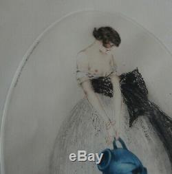 Louis ICART Eau Forte et Aquatinte 1924 Superbe Signée
