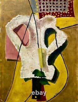 Louis LATAPIE 1891-1972, oeuvre Moderniste de 1939, Cubisme-Surréalisme Art Deco