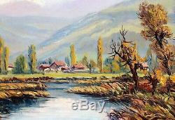 Lucien Quenard, tableau, montagne, Belledonne, Gières, Alpes, Isère, Grenoble