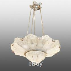 Lustre Art Deco aux cerises signé Sabino Cherry chandelier
