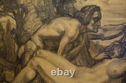 Maurice Goossens 1920, Symboliste Art-Déco! Bénézit, Bien Coté
