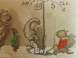 O'klein Boris, Lithographie Originale, Eau Forte signée au Crayon & Titrée 1930
