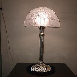 Paire de lampes signées Hettier &Vincent