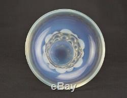 - René Lalique Gros Vase Beautreillis Verre Opalescent Art Déco 1927 Signé