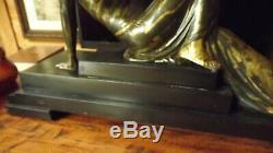 Statue Art Deco Signe Menneville