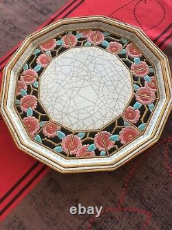 Tete A Tete En Elaux De Longwy Signe Decor Art Deco