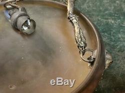 Vasque lustre Art Deco signée Daum Nancy petite taille 20.5cm