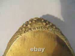 Vide poche en bronze signé Delaherche fin XIX début XX siècle